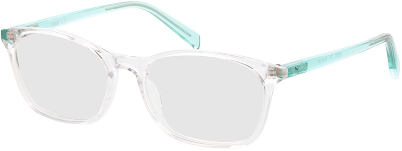 Picture of glasses model Puma PJ0031O-004 49-16 in angle 330