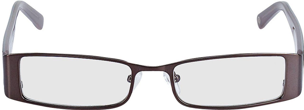 Picture of glasses model Sara-grau/graubraun in angle 0