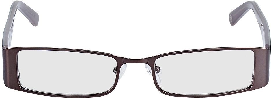Picture of glasses model Sara Grijs/Grijsbruin in angle 0