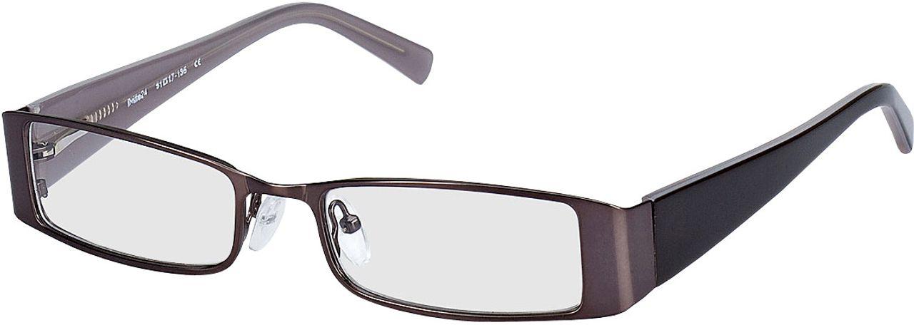 Picture of glasses model Sara-grau/graubraun in angle 330