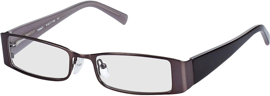 Picture of glasses model Sara Grijs/Grijsbruin in angle 330
