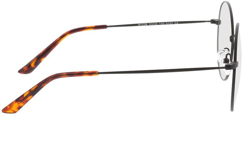 Picture of glasses model Orsa-schwarz in angle 90