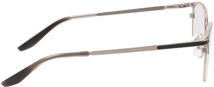 Picture of glasses model Nerio-matt schwarz matt silber in angle 90