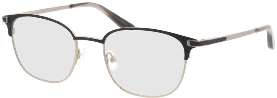 Picture of glasses model Nerio-matt schwarz matt silber in angle 330