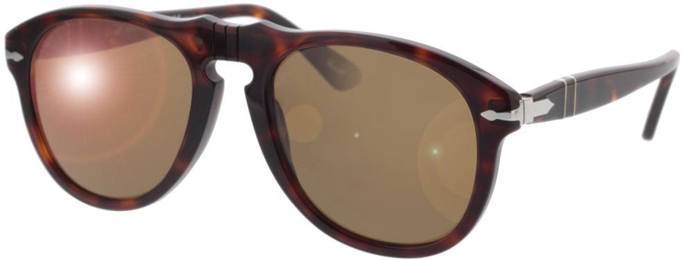 Picture of glasses model Persol PO0649 24/57 54-20 in angle 330