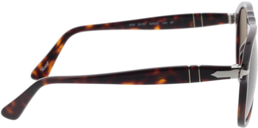 Picture of glasses model Persol PO0649 24/57 54-20 in angle 90