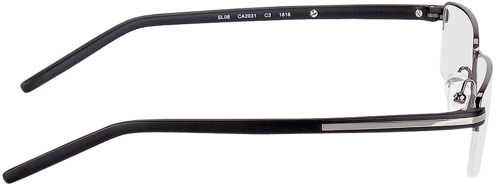Picture of glasses model Veria-anthrazit/schwarz in angle 90