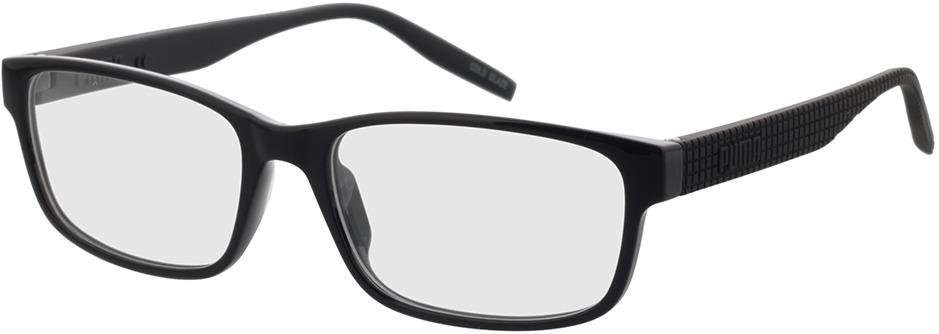 Picture of glasses model Puma PU0278O-001 57-17 in angle 330