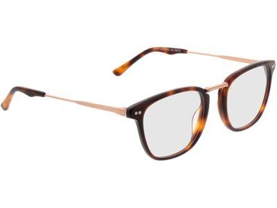 Brille Salem-braunmeliert/gold