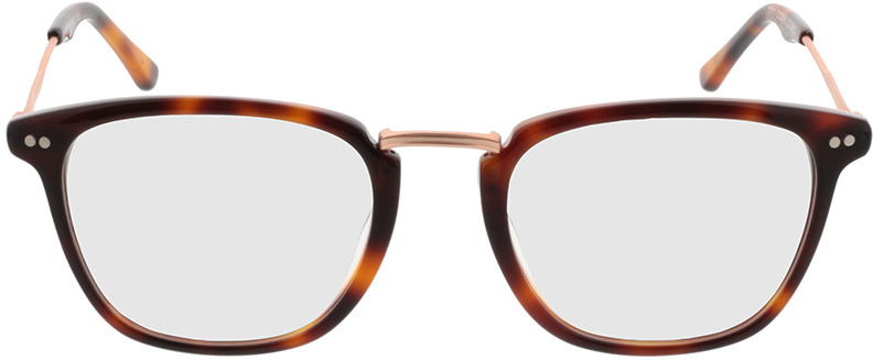 Picture of glasses model Salem brown/mottled/gold in angle 0