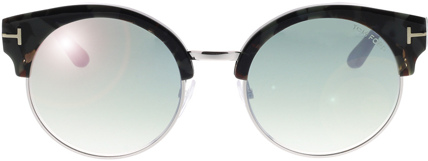 Picture of glasses model Tom Ford FT0608 55X in angle 0