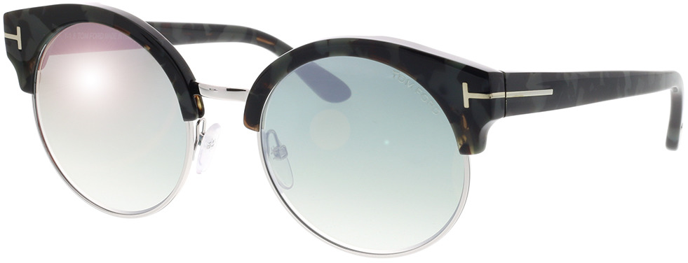 Picture of glasses model Tom Ford FT0608 55X in angle 330