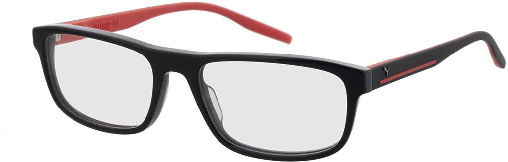 Picture of glasses model Puma PU0275O-001 57-18 in angle 330