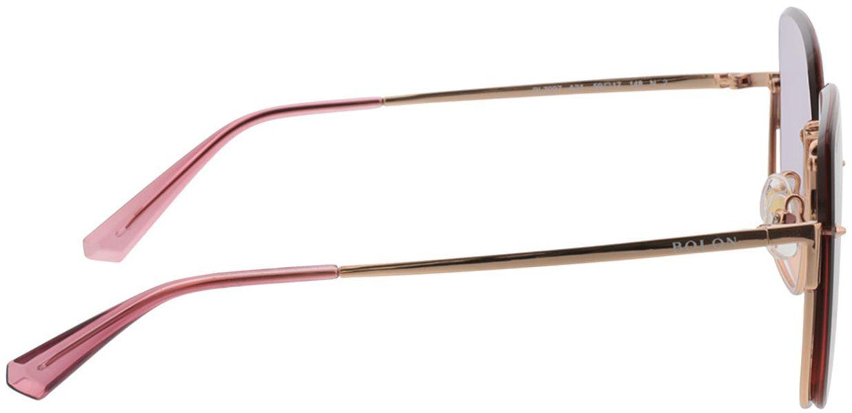 Picture of glasses model Bolon BL7097 A31 59-17 in angle 90