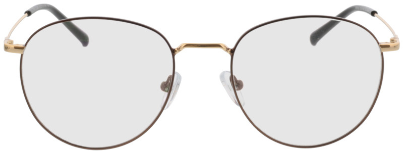 Picture of glasses model Louro-braun/gold in angle 0