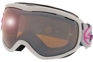Skibrille Ekinox (Polar) weiss marmoriert L