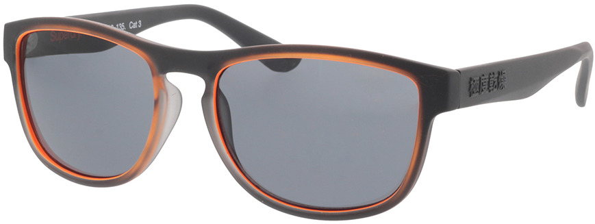 Picture of glasses model Superdry SDS Thirdstreet 104 black/brown 54-18 in angle 330