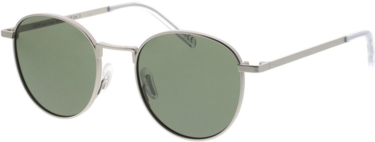 Picture of glasses model TAKE A SHOT Arin: Silver 49-20 in angle 330