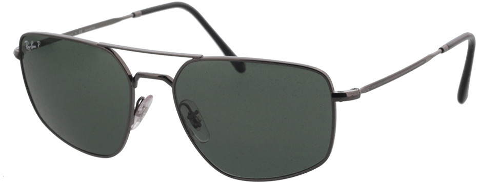 Picture of glasses model Ray-Ban RB3666 004/N5 56-17 in angle 330