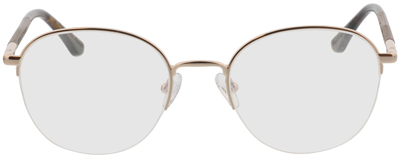 Picture of glasses model Wood Fellas Optical Cloudburst curled/gold shiny 52-20 in angle 0