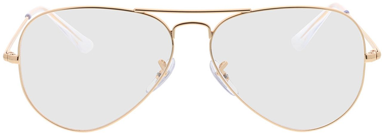 Picture of glasses model Ray-Ban RX6489 3094 58-14 in angle 0