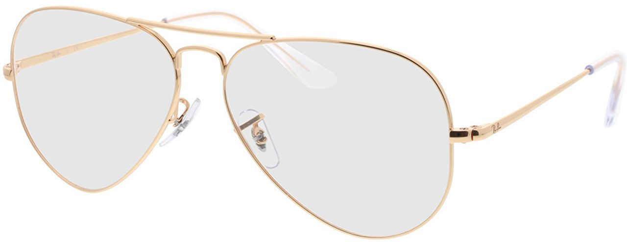 Picture of glasses model Ray-Ban RX6489 3094 58-14 in angle 330