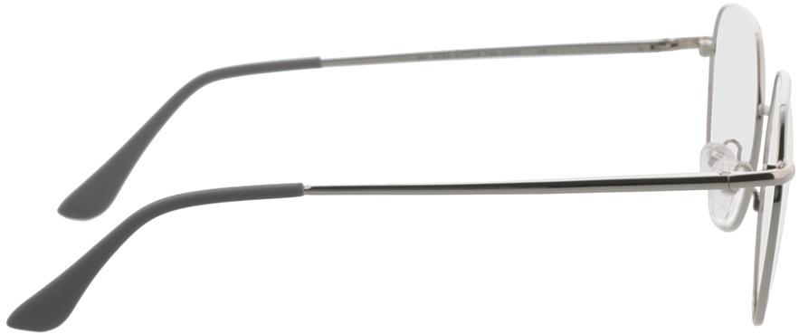 Picture of glasses model Kemi-silver in angle 90