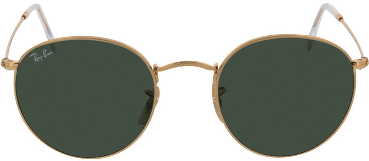 Picture of glasses model Ray-Ban Round Metal RB3447 001 50-21 in angle 0