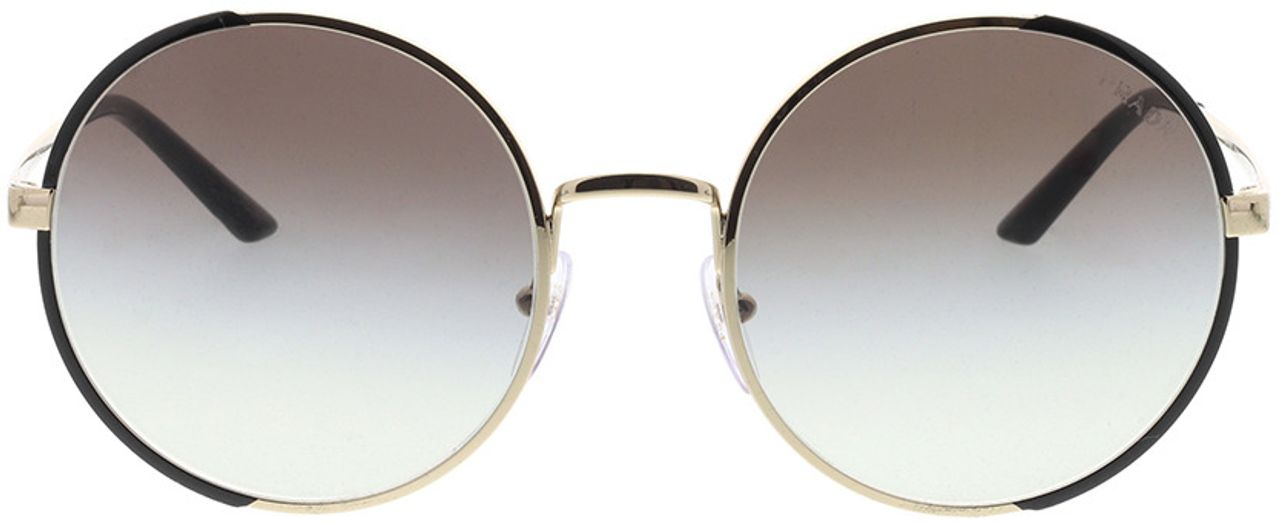 Picture of glasses model Prada PR 59XS AAV0A7 57-22 in angle 0