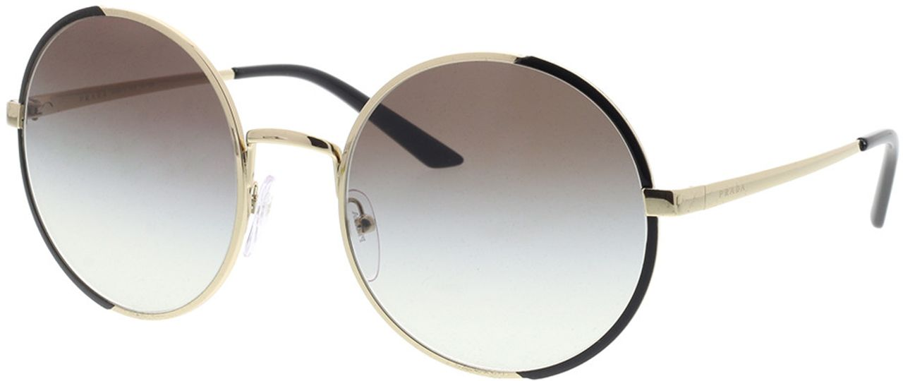 Picture of glasses model Prada PR 59XS AAV0A7 57-22 in angle 330