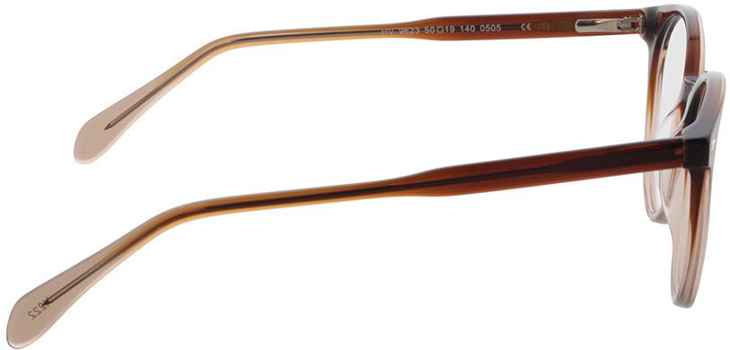 Picture of glasses model Bonnie-braun-verlauf in angle 90
