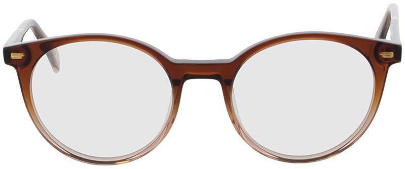 Picture of glasses model Bonnie-braun-verlauf in angle 0