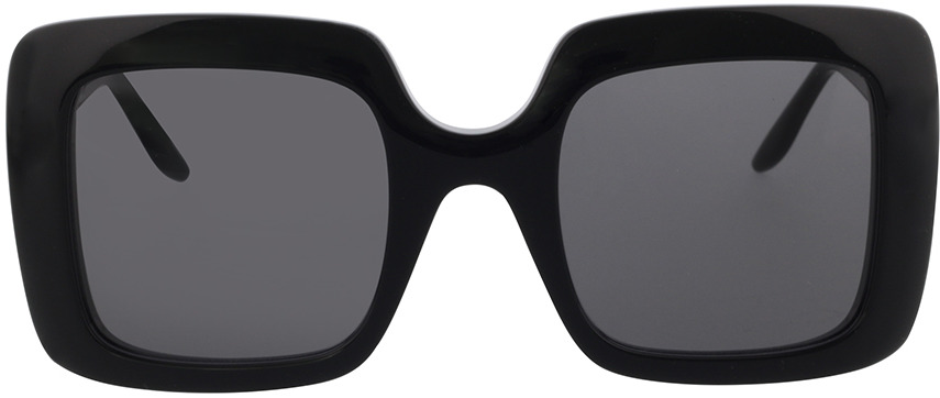 Picture of glasses model Gucci GG0896S-001 52-25 in angle 0