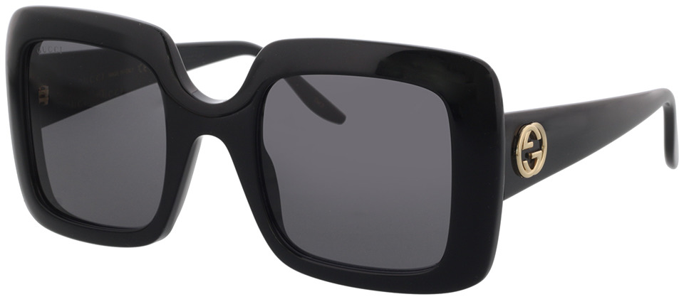 Picture of glasses model Gucci GG0896S-001 52-25 in angle 330