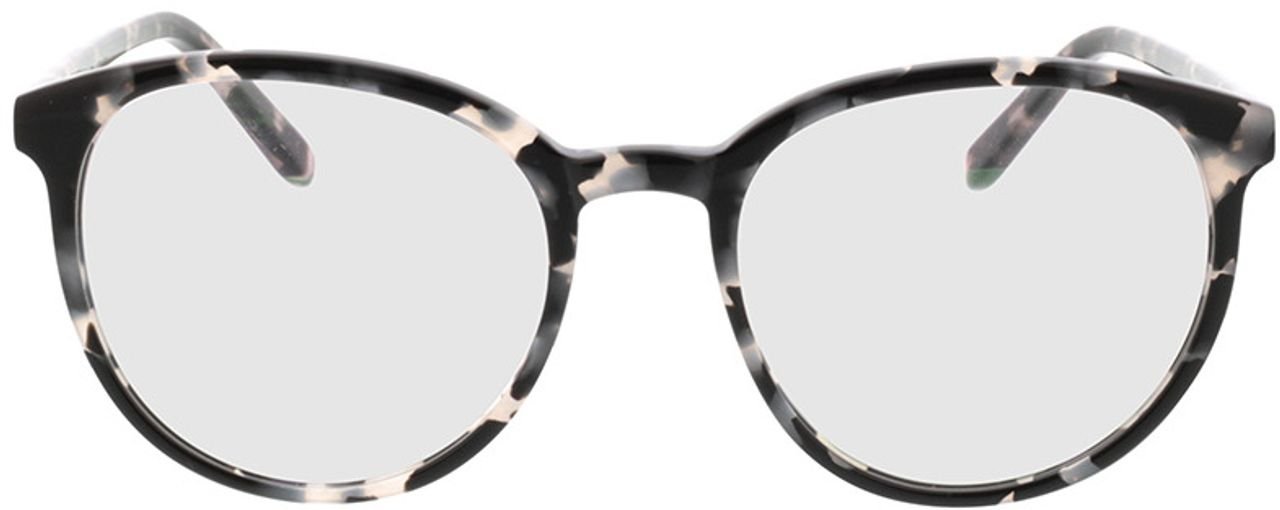 Picture of glasses model New York-grau-meliert in angle 0
