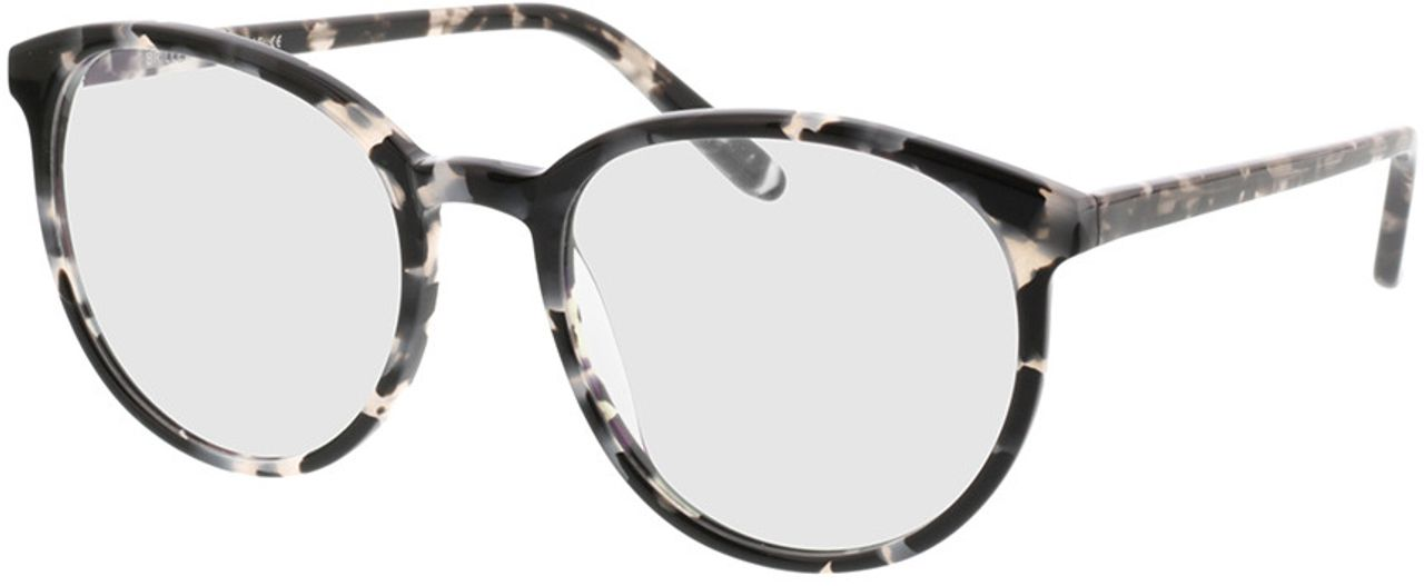 Picture of glasses model New York-grau-meliert in angle 330