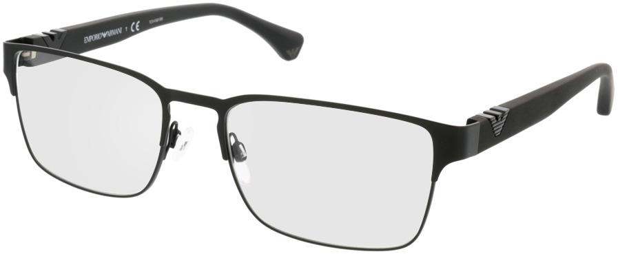 Picture of glasses model Emporio Armani EA1027 3001 55-18 in angle 330