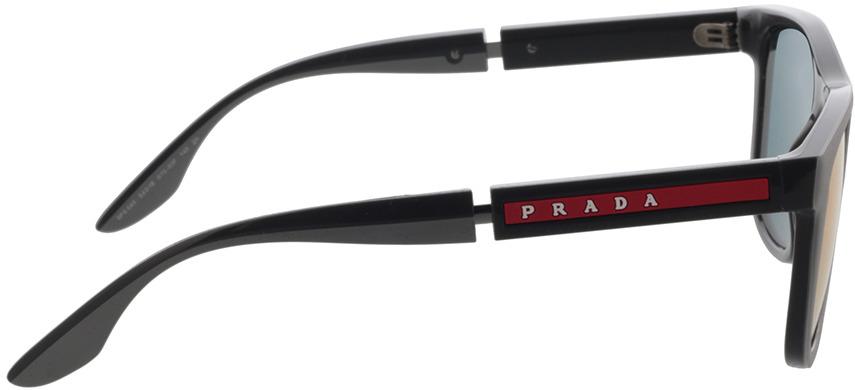 Picture of glasses model Prada Linea Rossa PS 04XS 01S08F 54-18 in angle 90