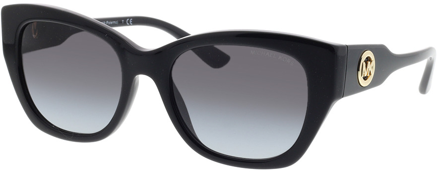 Picture of glasses model Michael Kors Palermo MK2119 30058G 53-19 in angle 330