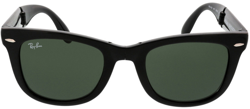 Picture of glasses model Ray-Ban Folding Wayfarer RB4105 601 50-21 in angle 0