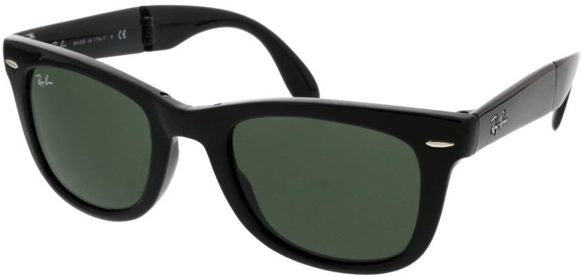 Picture of glasses model Ray-Ban Folding Wayfarer RB4105 601 50-21