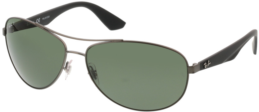 Picture of glasses model Ray-Ban RB3526 029/9A 63-14 in angle 330