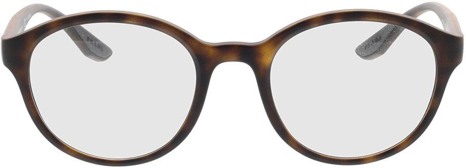 Picture of glasses model Prada Linea Rossa PS 01NV 5811O1 52-21 in angle 0
