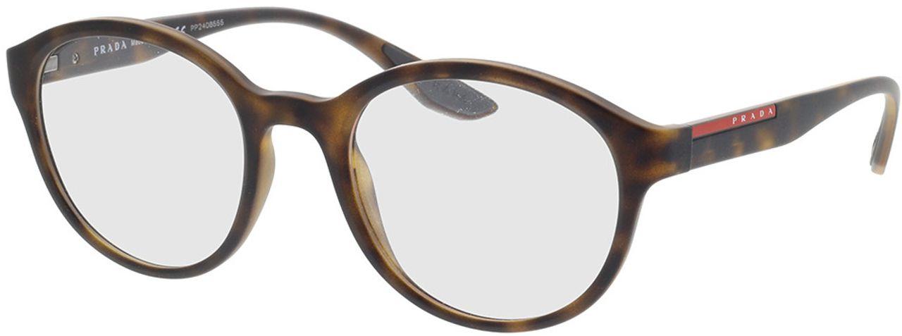Picture of glasses model Prada Linea Rossa PS 01NV 5811O1 52-21 in angle 330