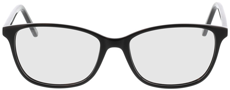 Picture of glasses model Carnia-schwarz in angle 0