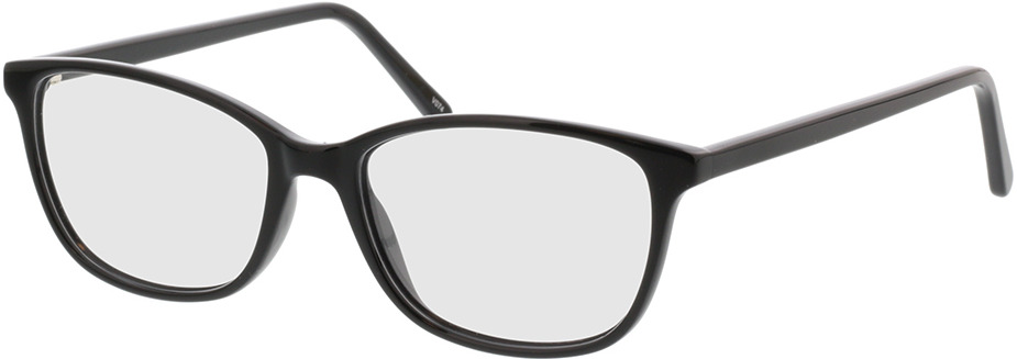 Picture of glasses model Carnia-schwarz in angle 330