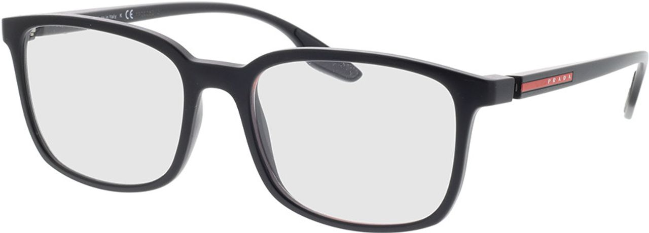 Picture of glasses model Prada Linea Rossa PS 05MV 1BO1O1 55-18 in angle 330