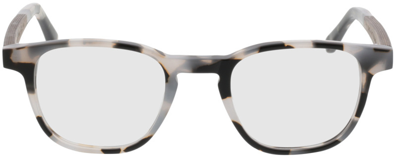 Picture of glasses model TAKE A SHOT Oya Shell RX: Walnussholz 45-22 in angle 0