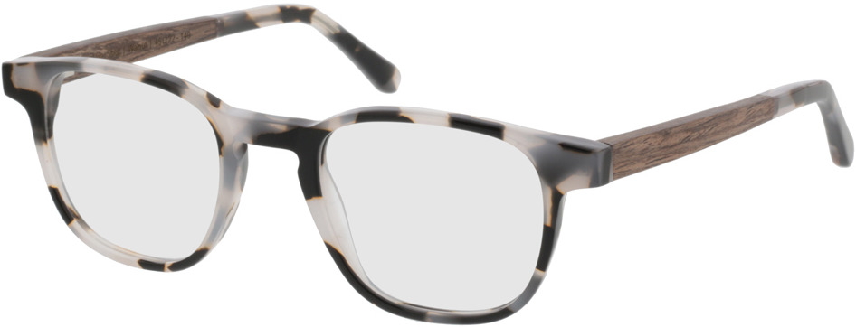 Picture of glasses model TAKE A SHOT Oya Shell RX: Walnussholz 45-22 in angle 330