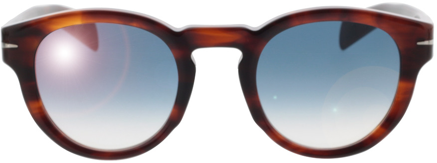 Picture of glasses model David Beckham DB 7041/S Z15 48-24 in angle 0